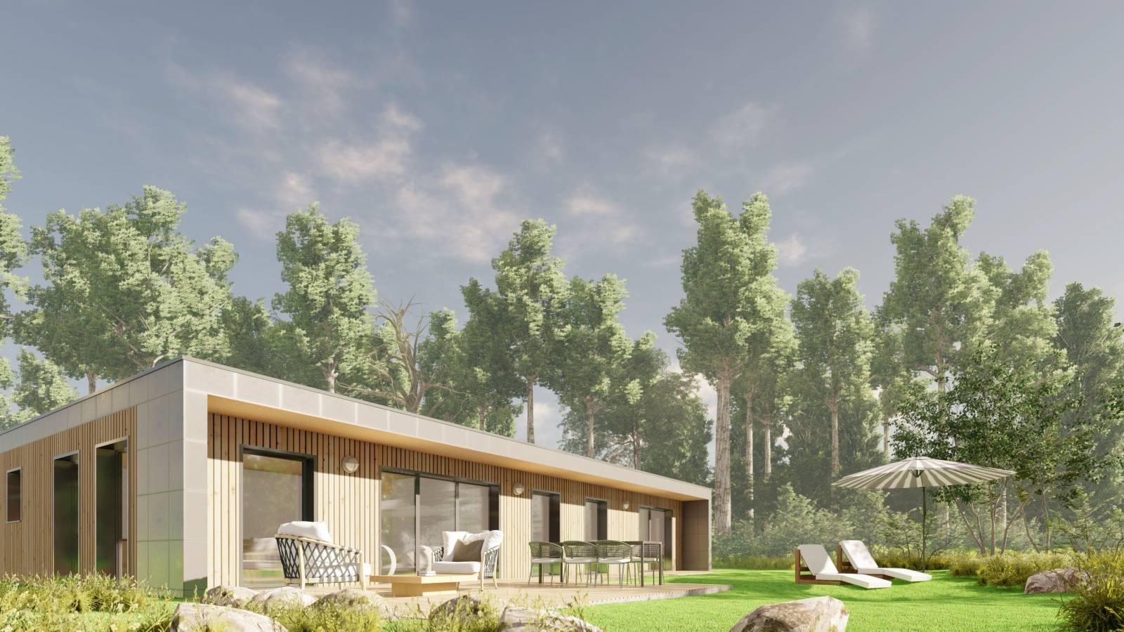 Maison En Bois Annecy modèle de maison plain pied ossature bois - charpentier