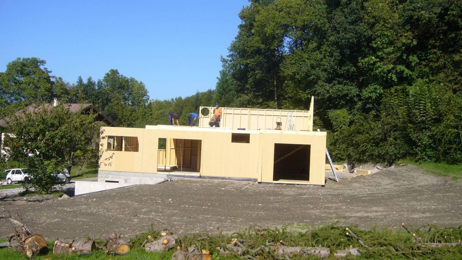 Maison En Bois Annecy mais bardage bois - charpentier constructeur de maison bois