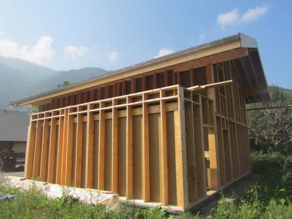 toiture terrasse Sarnafil à Samoens, Haute Savoie  ARVE CHARPENTE